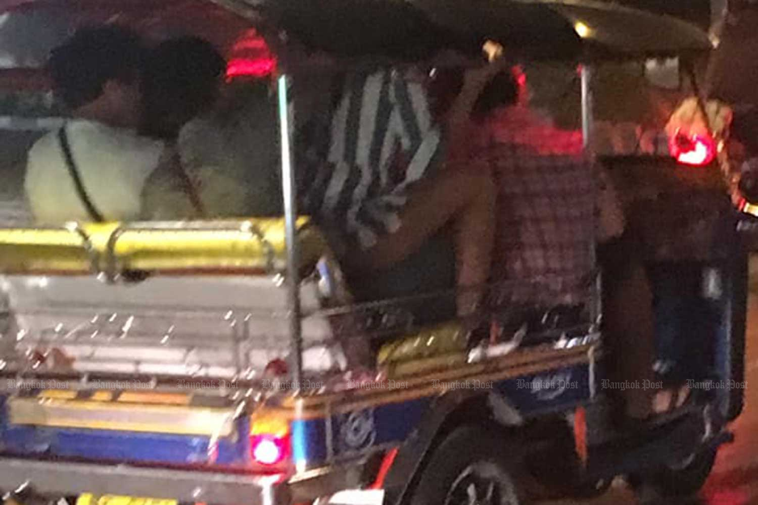 Social media storm over tuk-tuk sex video