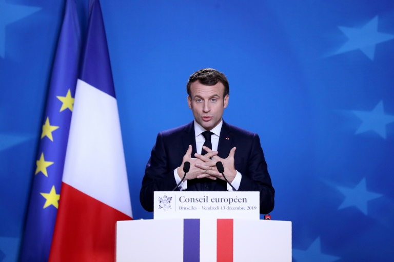 French President Emmanuel Macron warned of the possibility that London could become an 'unfair competitor'