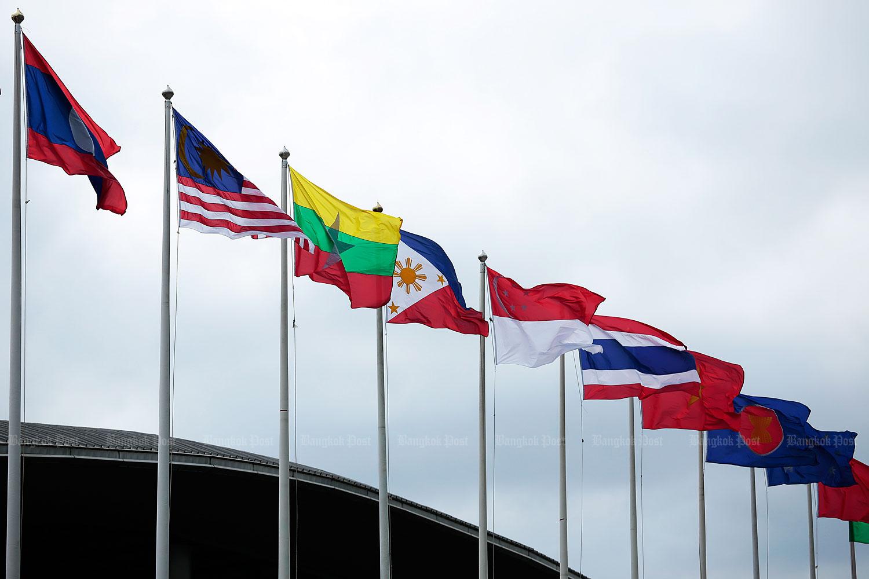 Asean may split up. (Bangkok Post file photo)