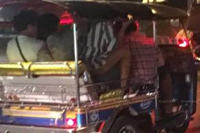 No sex in my tuk-tuk, says driver