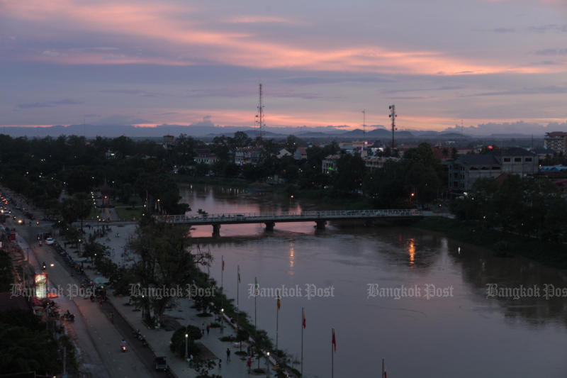 The Sangker is one of the main rivers flowing through the heart of Battambang city before ending at Tonle Sap, the largest freshwater lake in Southeast Asia. (Bangkok Post photo)