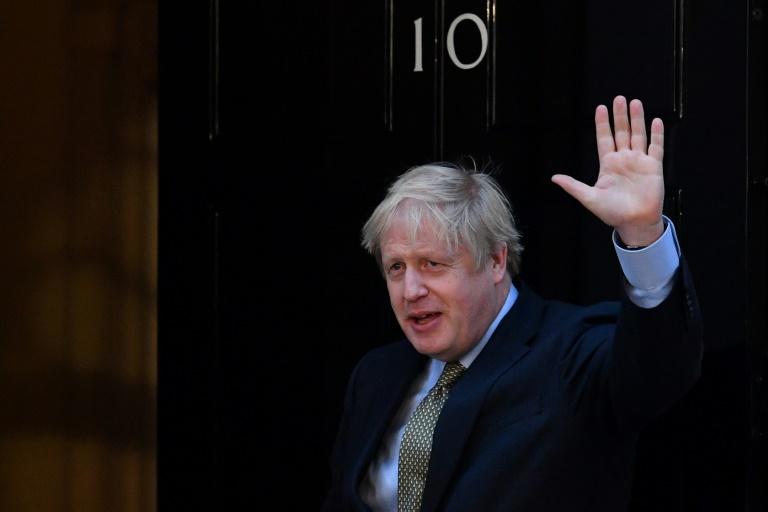 Five more years, but Boris Johnson's first task is to pull Britain out of the European Union.