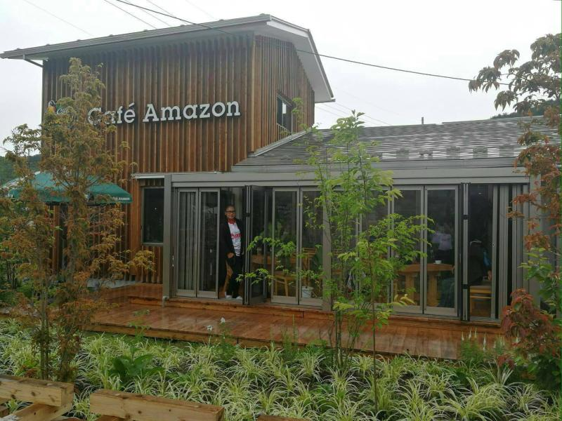 Fukushima prefecture is one of Cafe Amazon's overseas locations. PTT Plc and Central Plaza Hotel Plc will operate the brand in Vietnam. (Cafe Amazon photo)