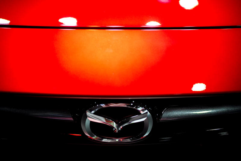 A Mazda logo is pictured at the Bangkok Auto Salon 2019 in Bangkok on July 4, 2019. (Reuters file photo)