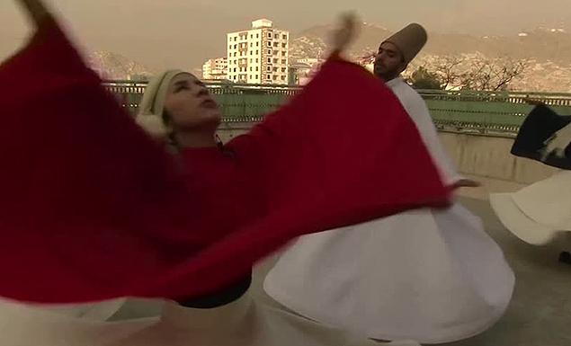 Afghan women break taboos with whirling dances