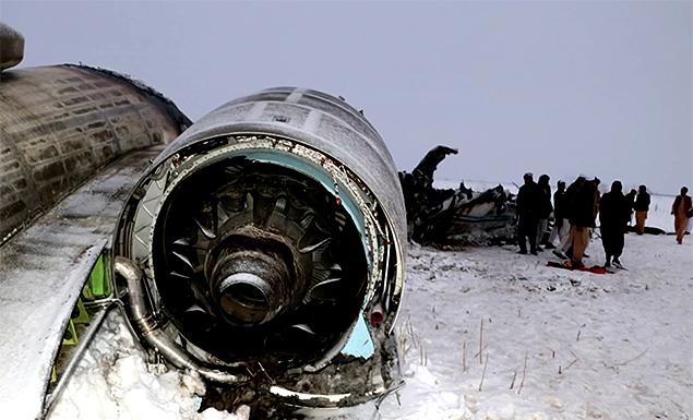Taliban repel Afghan effort to reach U.S. military jet crash