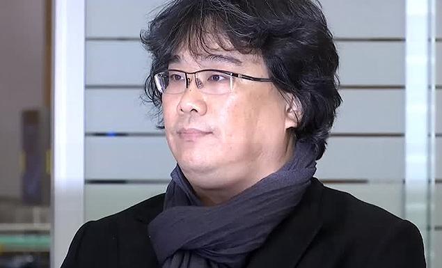 Parasite director Bong Joon-ho gets a hero's welcome