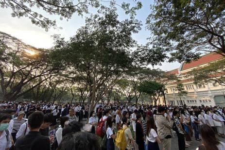 Pro-democracy students stage flash rallies -0
