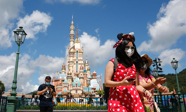 Hong Kong Disneyland reopens after five months