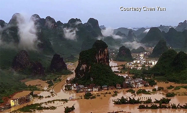 The dam at a small reservoir in China's Guangxi region gave way last month after days of heavy rain, in a collapse that could be an ominous sign for many of the country's 94,000 aging dams as the weather gets more extreme. - REUTERS