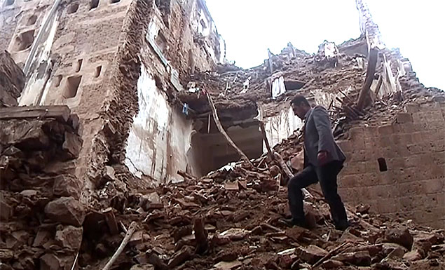 UNESCO-listed Old Sanaa houses collapse