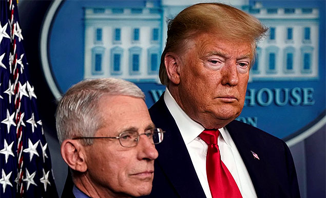 With election nearing, Trump takes aim at Fauci