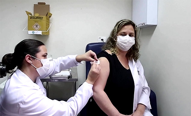A volunteer who was taking part in clinical trials of the AstraZeneca vaccine in Brazil has died. The Brazilian health authority has confirmed that the trial will continue. - REUTERS