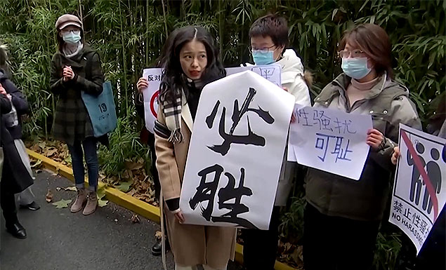 Chinese #MeToo case reaches court
