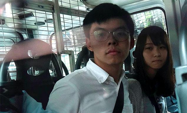Hong Kong activist Wong given 13 months prison