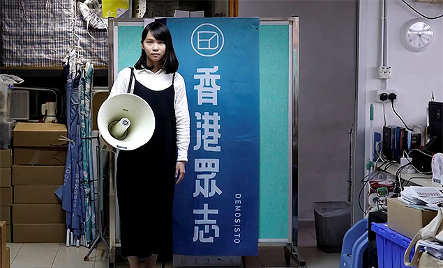 Who is Hong Kong's 'goddess of democracy' Agnes Chow?