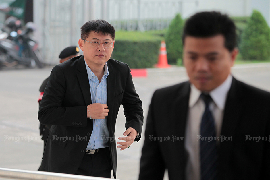 Jan 21: Former TV news anchor Sorrayuth Suthassanachinda loses his final appeal and the Supreme Court sends him to prison for eight years on, concluding the drawn-out MCOT advertising revenue embezzlement case. — Chanat Katanyu