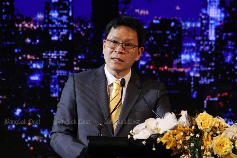 Bank of Thailand governor Veerathai Santiprabhob (Bangkok Post photo)