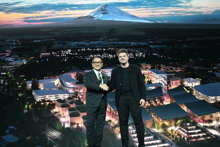 Toyota wants to build a high tech city near Mt. Fuji