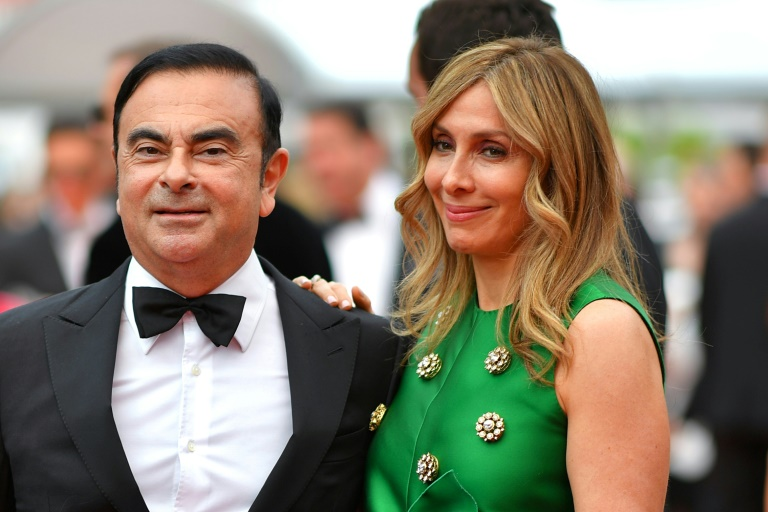 Carole Ghosn has vocally led the campaign for her husband's freedom, insisting on his innocence.