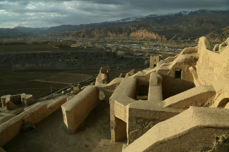 After bearing the brunt of jihadist dynamite and looting by thieves, the archaeological treasures of Afghanistan's Bamiyan province are facing a new and possibly more daunting threat from climate change.