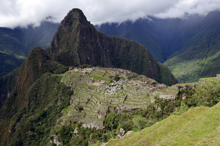 Around 1.5 million tourists a year visit the old Inca sanctuary of Machu Picchu in the Andes, the most iconic site in Peru