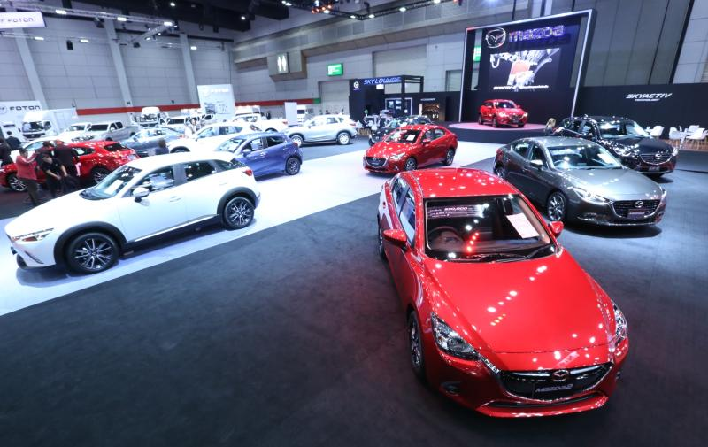 Mazda Sales (Thailand) expects the car production in the country will drop for the second straight year. (Mazda photo)