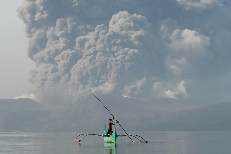 Philippine authorities have raised an alert for a possible 'explosive eruption' of the Taal volcano near Manila.