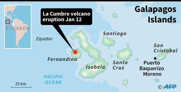 Volcano Erupts On Ecologically Sensitive Galapagos Island