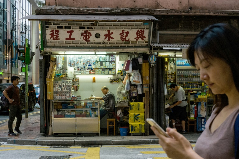 With retail sales down and tourist numbers plunging, Hong Kong's economy appears headed for its first annual contraction since 2009.