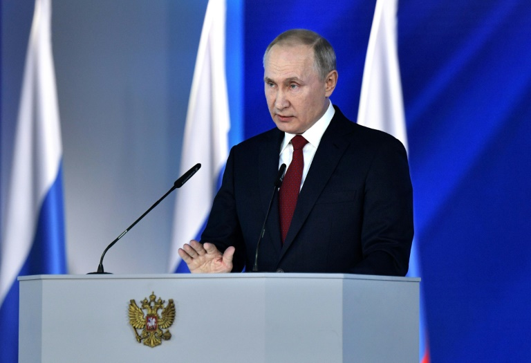 Russian President Vladimir Putin called for a referendum to amend the constitution in his annual addresss to lawmakers.