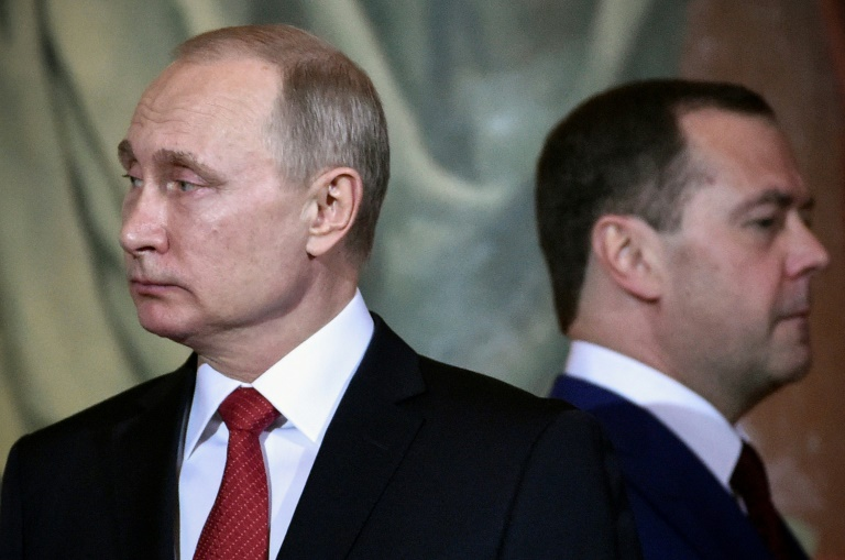 'All further decisions will be taken by the president,' said Medvedev.