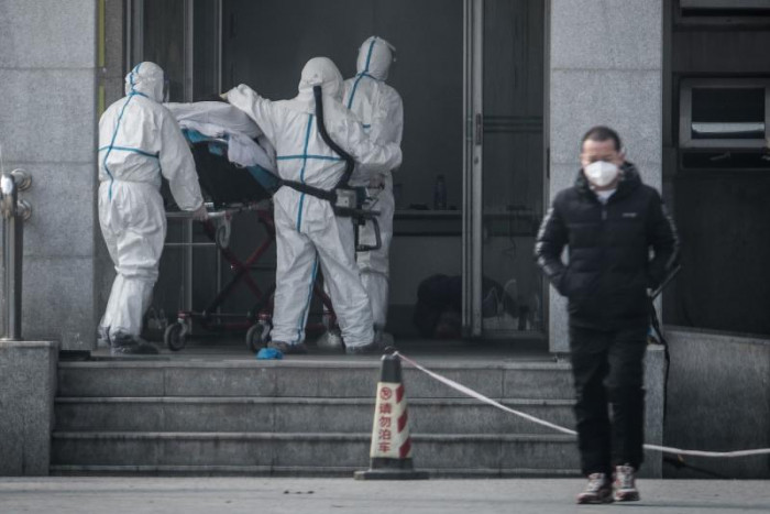 China's SARS-like virus spreading person-to-person: US