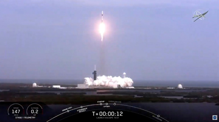 'We're About to Lift Off': SpaceX Mission Tests Emergency Shoot Successfully