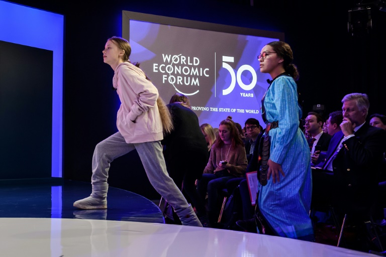 World leaders cheating on climate change numbers, says Greta Thunberg