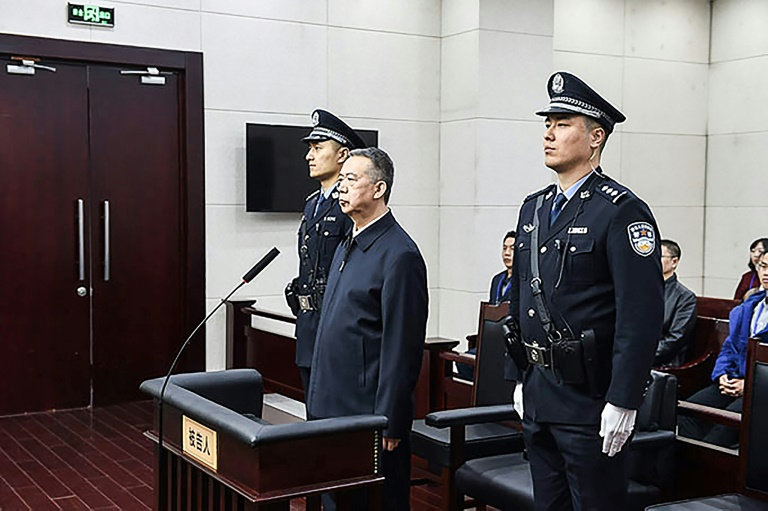 Former Interpol chief jailed for 13 years over $2million bribery in China