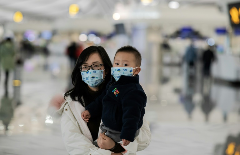 Airport health screenings have been stepped up across China and Asia, including at Beijing's Daxing airport, seen here -- in the US, five international airports will now check passengers arriving from the Chinese city of Wuhan.