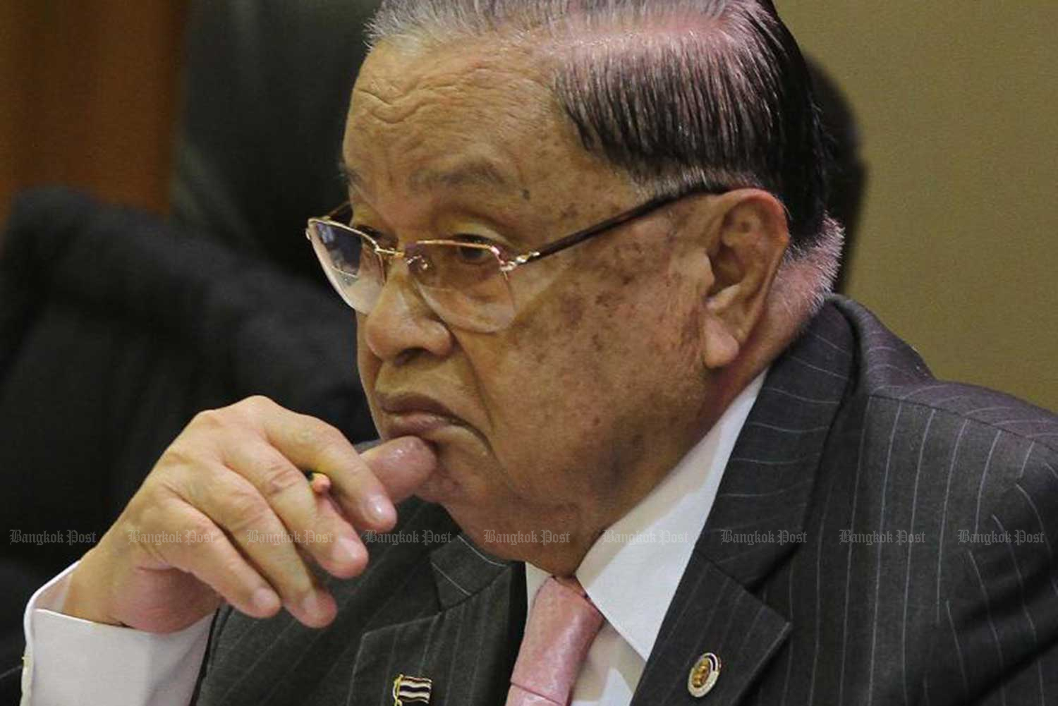 Veteran Buri Ram politician and former House speaker Chai Chidchob died at his house in Buri Ram province on Friday morning. (File photo)