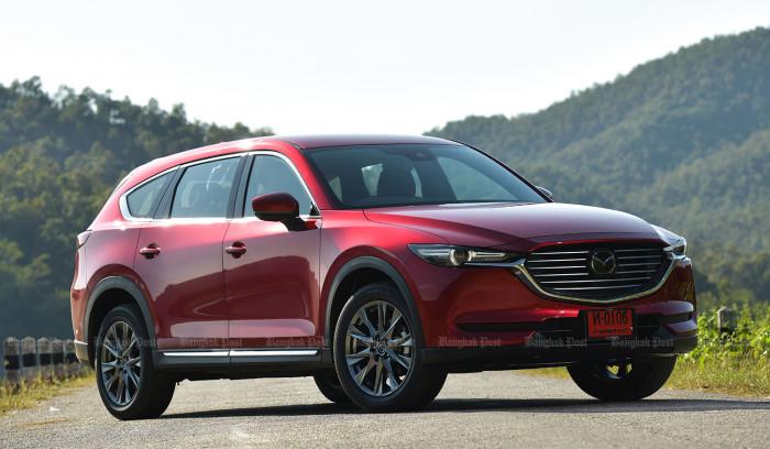 Mazda CX-8 2.5 Turbo SP (2020) review