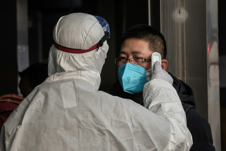 Chinese authorities are battling to contain the virus, which has claimed more than 100 lives and infected thousands, with investors growing increasingly worried about the economic impact.