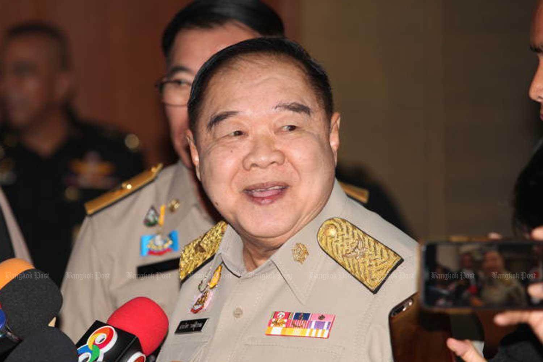 Deputy Prime Minister Prawit Wongsuwon.