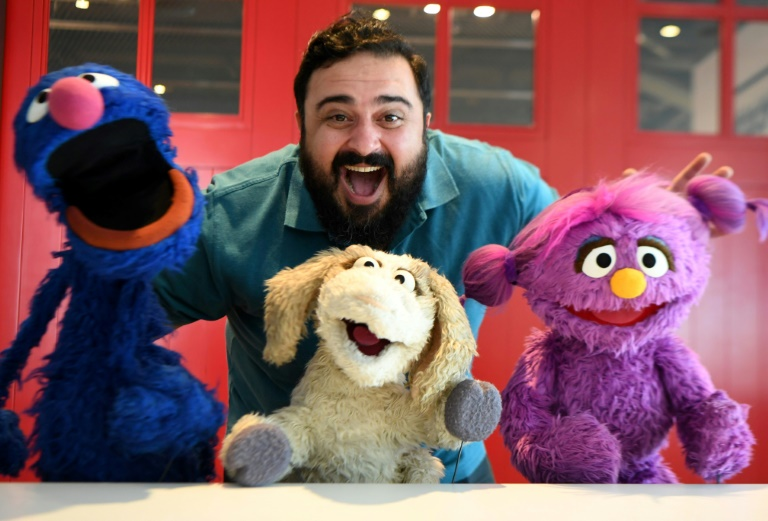 The new Middle East version of Sesame Street called 'Ahlan Simsim' will seek to help children and particularly Syrian refugees cope with emotions with new characters joining old favourite ones