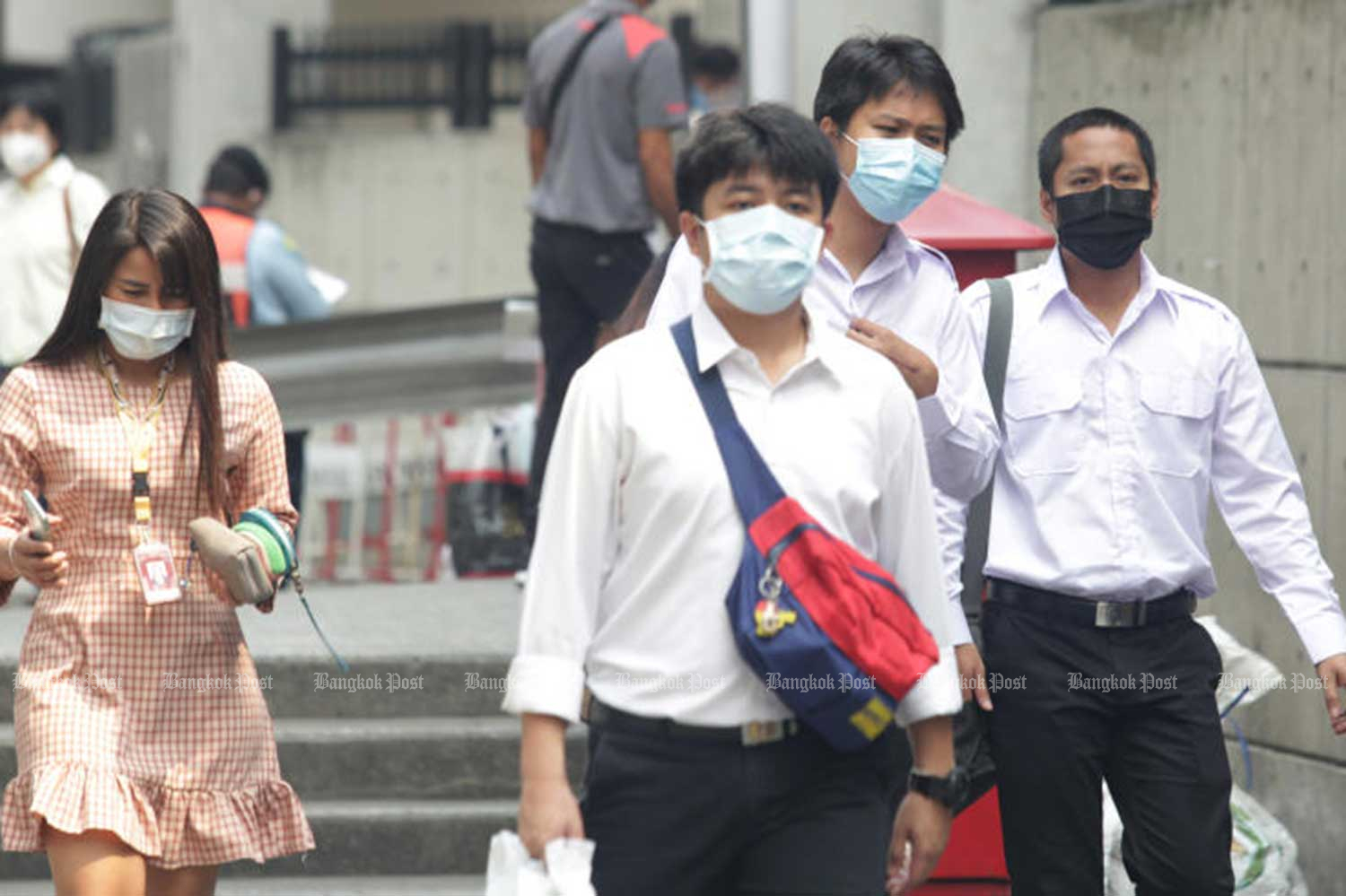 More smog in Bangkok