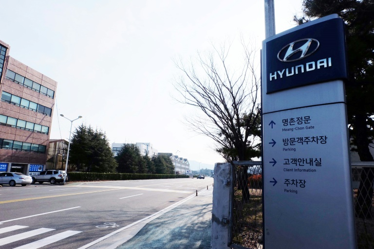 Hyundai's five-plant network can make 1.4 million vehicles annually, but has been shut down because of a lack of parts.