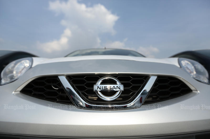 Nissan Motor Thailand is ordered to rescind its contract termination with seven dealers. (Photo by Patipat Janthong)