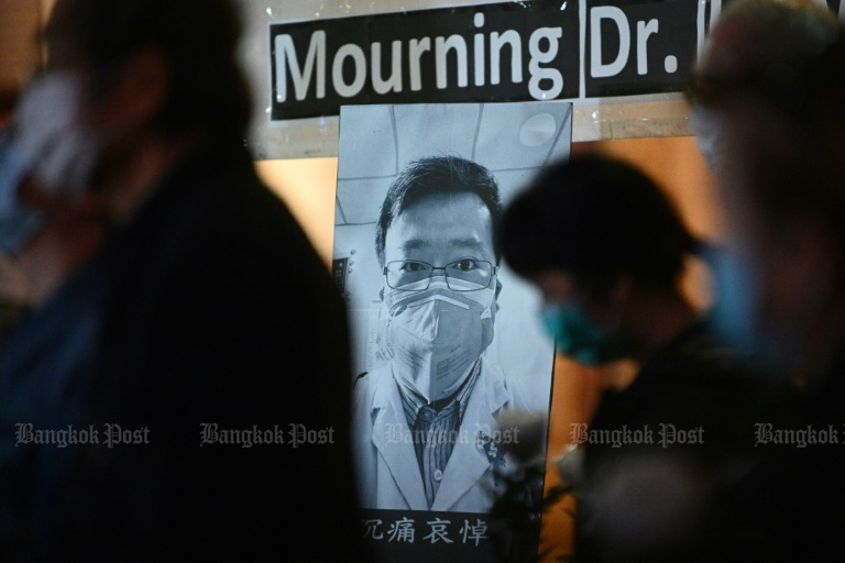 Whistleblowing doctor Li Wenliang's death sparked a rare outpouring of grief and anger on social media over the government's handling of the crisis.