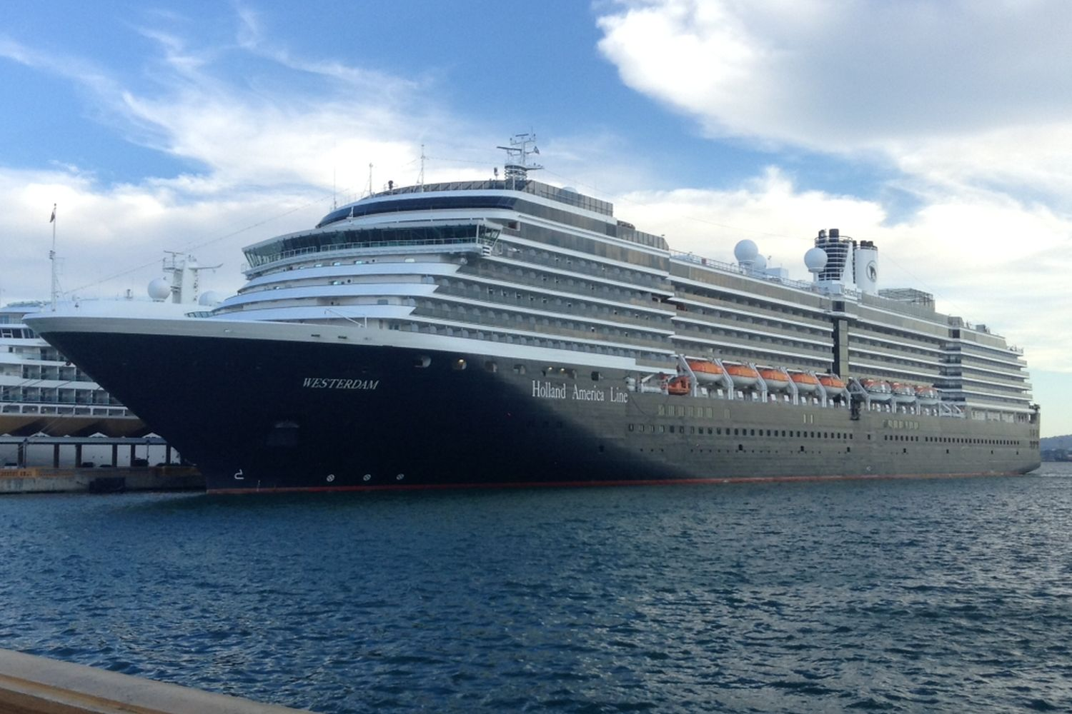 The 'Westerdam' docks in San Juan, Puerto Rico, on Nov 24, 2015. (Photo by Master0Garfield distributed under the Creative Commons Attribution-Share Alike 4.0 International licence.)
