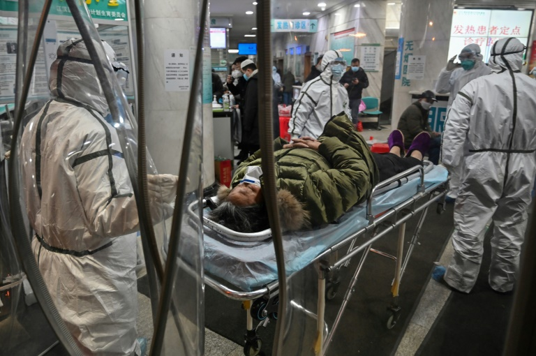 The virus, which has since gone on to kill more than 1,000 people across China, is believed to have crossed into humans from an animal market in Wuhan.