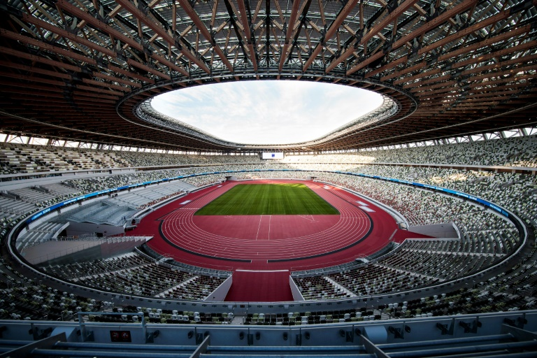 The National Stadium will be the main venue for the Tokyo Olympic Games.