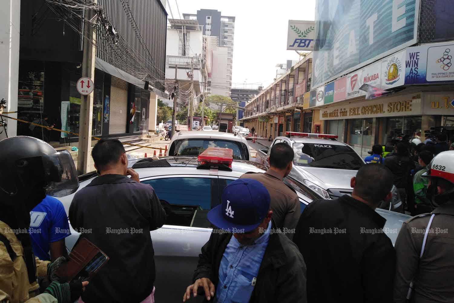 Gunshots fired in central Bangkok